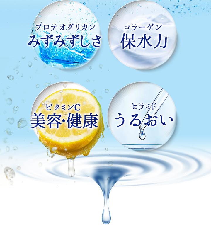 プロテオグリカン みずみずしさ コラーゲン 保水力 ビタミンc 美容・健康 セラミド うるおい